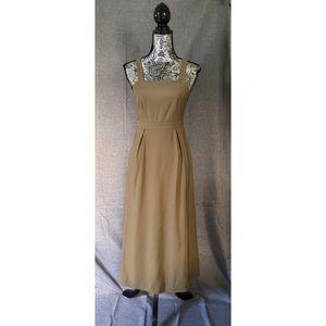 Topshop Dungaree Midi Dress